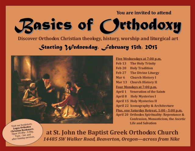 Basics of Orthodoxy series3