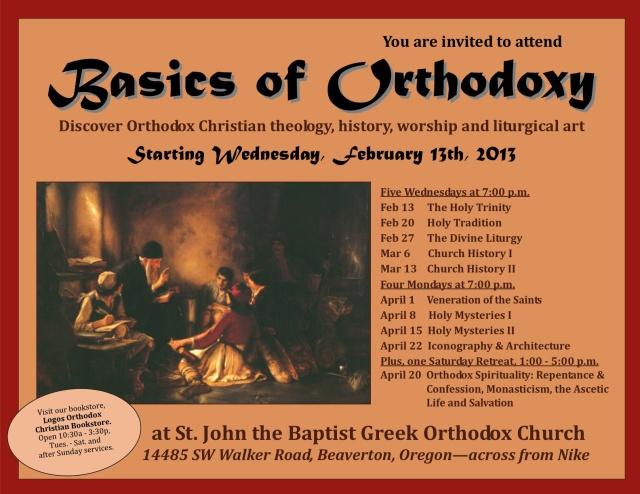 Basics of Orthodoxy series3