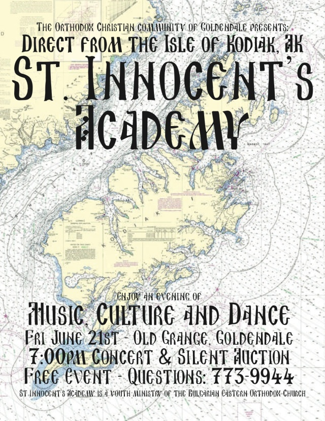 St Innocent's Poster