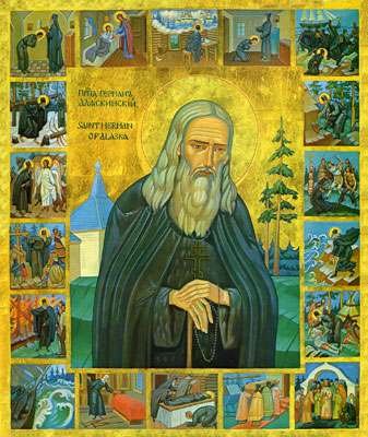 St Herman's Icon