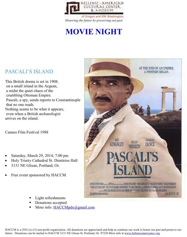 Pascali Island flyer