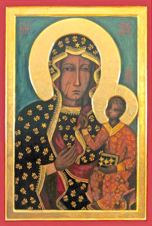 Czestochowa Icon Image - Version 2