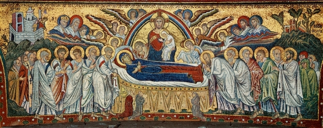 DORMITION OF THE VIRGIN - JACOPO TORRITI, SANTA MARIA MAGGIORE, C. 1294