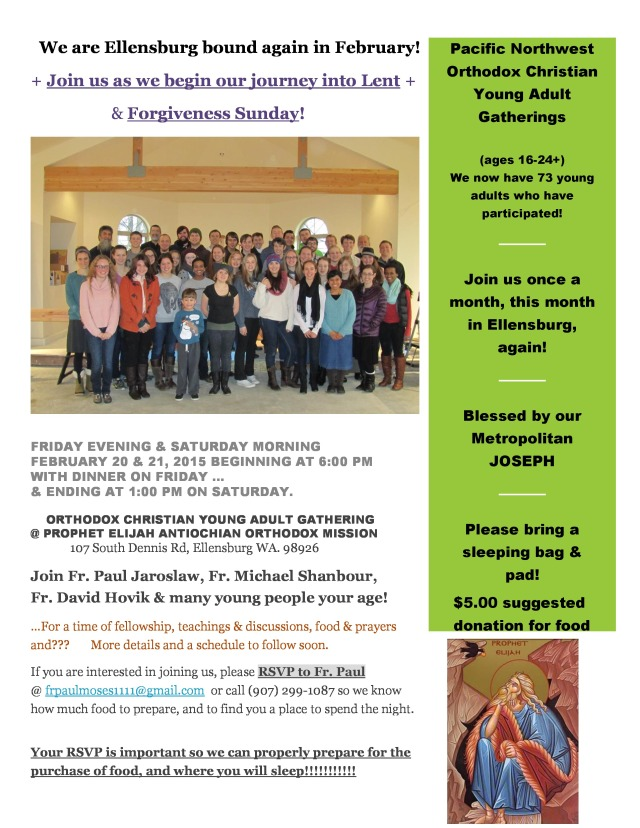 Ellensburg Youth Gathering flyer, February 20 & 21, 2015-page-0
